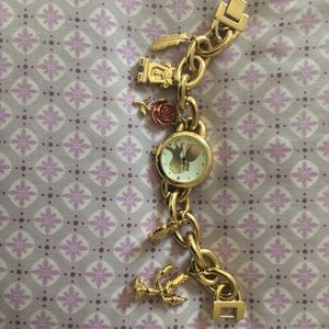 "RARE ""Beauty & The Beast Charm Watch"""